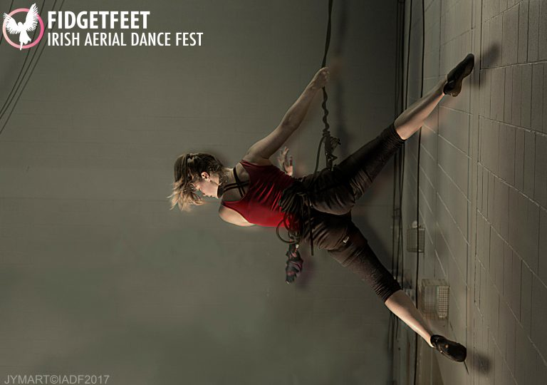 Fidget Feet, Vertical Dance Forum, Irish Aerial Dance Fest